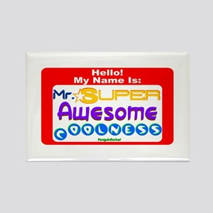 Mr. Super Awesome Rectangle Magnet