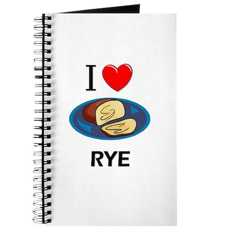 I Love Rye Journal