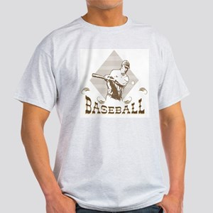 Vintage design Baseball Light T-Shirt