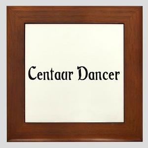 Centaur Dancer Framed Tile