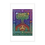 Celtic Tree Of Life Mini Poster Print