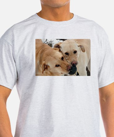 Cute Yellow lab photography T-Shirt