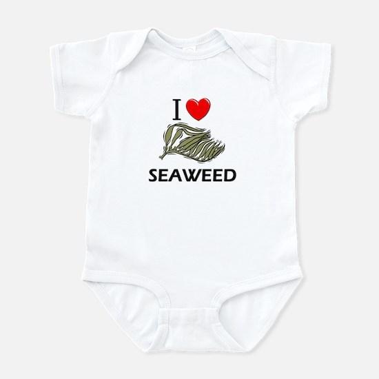 I Love Seaweed Infant Bodysuit