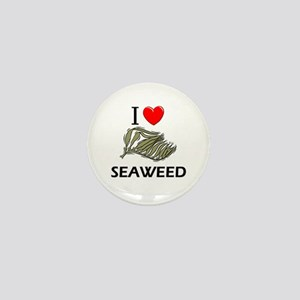 I Love Seaweed Mini Button