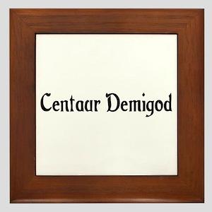 Centaur Demigod Framed Tile