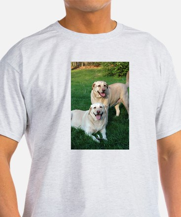 Funny Yellow lab photography T-Shirt