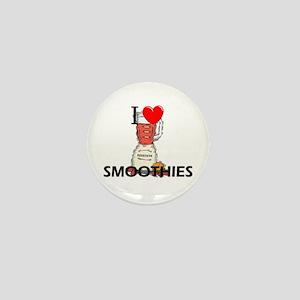 I Love Smoothies Mini Button