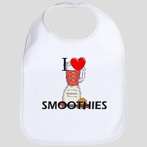 I Love Smoothies Bib