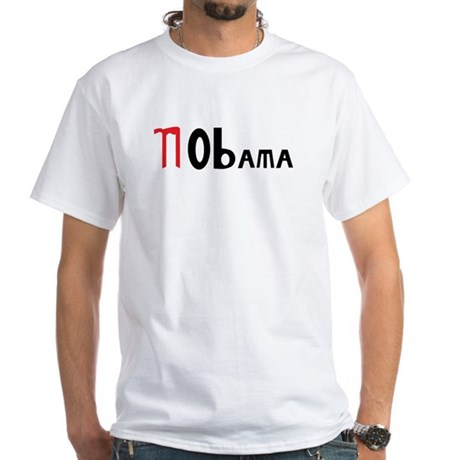 NObama White T-Shirt