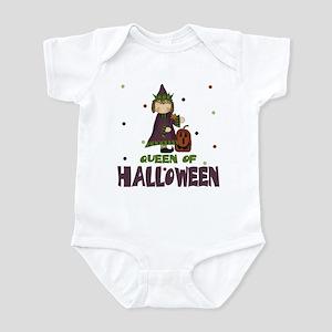 Queen Of Halloween Baby Toddler Infant Bodysuit