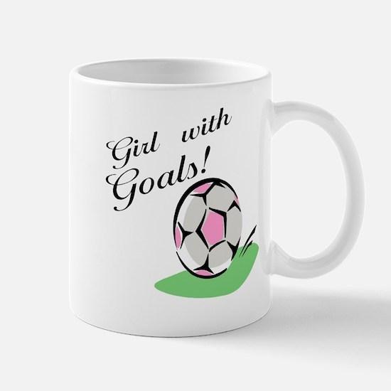 Girl with Goals Mug