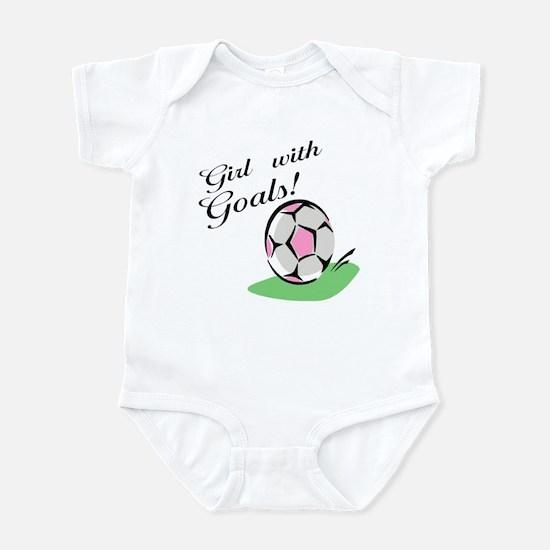 Girl with Goals Infant Bodysuit