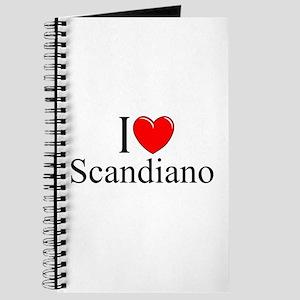 """I Love (Heart) Scandiano"" Journal"
