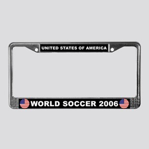 U.S.A. World Cup 2006 Soccer License Plate Frame
