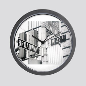 NY Broadway Times Square - Wall Clock