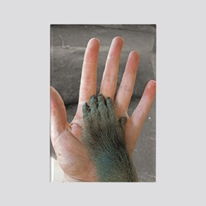 Hand in Hand Rectangle Magnet