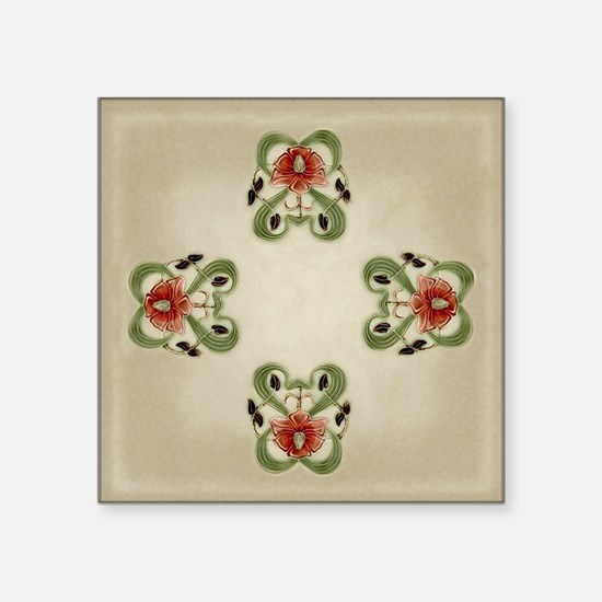 Victorian Roses Sticker