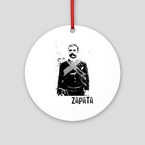 Emiliano Zapata Ornament (Round)