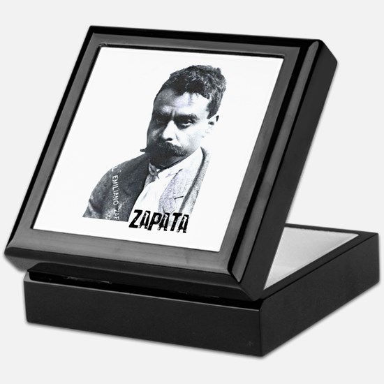 Emiliano Zapata - Portrait Keepsake Box