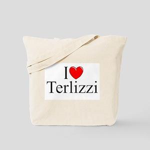 """""""I Love (Heart) Terlizzi"""" Tote Bag"""