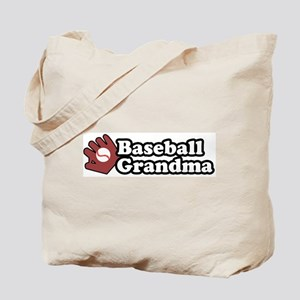 Baseball Grandma Tote Bag