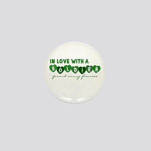 In Love With a Soldier - Prou Mini Button
