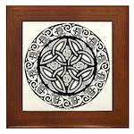 Celtic Shield Framed Tile