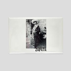 Emiliano Zapata Rectangle Magnet