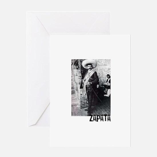 Emiliano Zapata Greeting Card