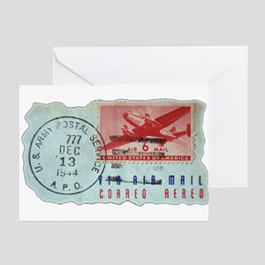 World War Two Air Mail Greeting Cards (Pk of 10)