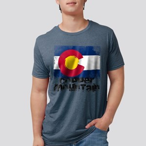 Copper Mountain Grunge Flag T-Shirt