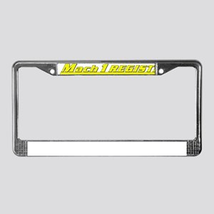 Mach 1 Registry License Plate Frame