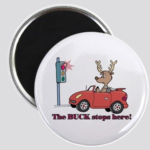 """The Buck Stops Here 2.25"""" Magnet (10 pack)"""