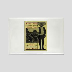 Emiliano Zapata Poster Rectangle Magnet