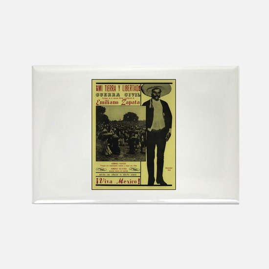 Emiliano Zapata Poster Rectangle Magnet