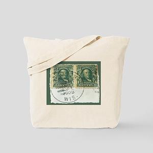 1908 Stamps Tote Bag