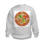 Celtic Autumn Leaves Kids Sweatshirt
