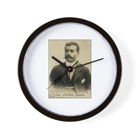 General Emiliano Zapata Wall Clock