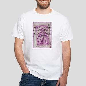 Polio Stamp White T-Shirt