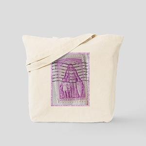 Polio Stamp Tote Bag
