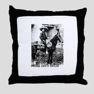 Emiliano Zapata Salazar Throw Pillow