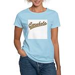 Cornhole Script Women's Light T-Shirt