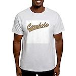 Cornhole Script Light T-Shirt