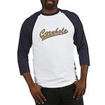 Cornhole Script Baseball Jersey