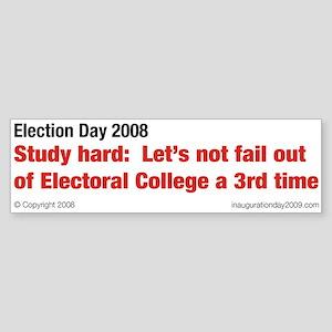 Electoral College 2008 Bumper Sticker