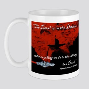 Devil is in the Details Submarine Mug