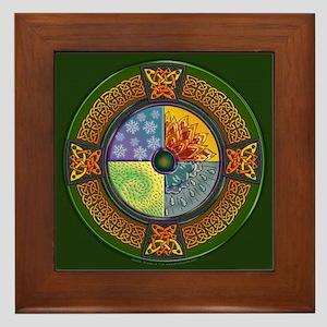 Celtic Elements Framed Tile