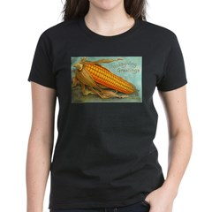 Corny Thanksgiving Women's Dark T-Shirt