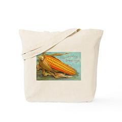 Corny Thanksgiving Tote Bag