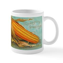 Corny Thanksgiving Mug
